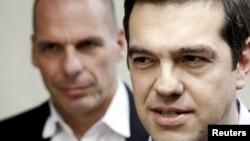 Alexis Tsipras və Yanis Varoufakis