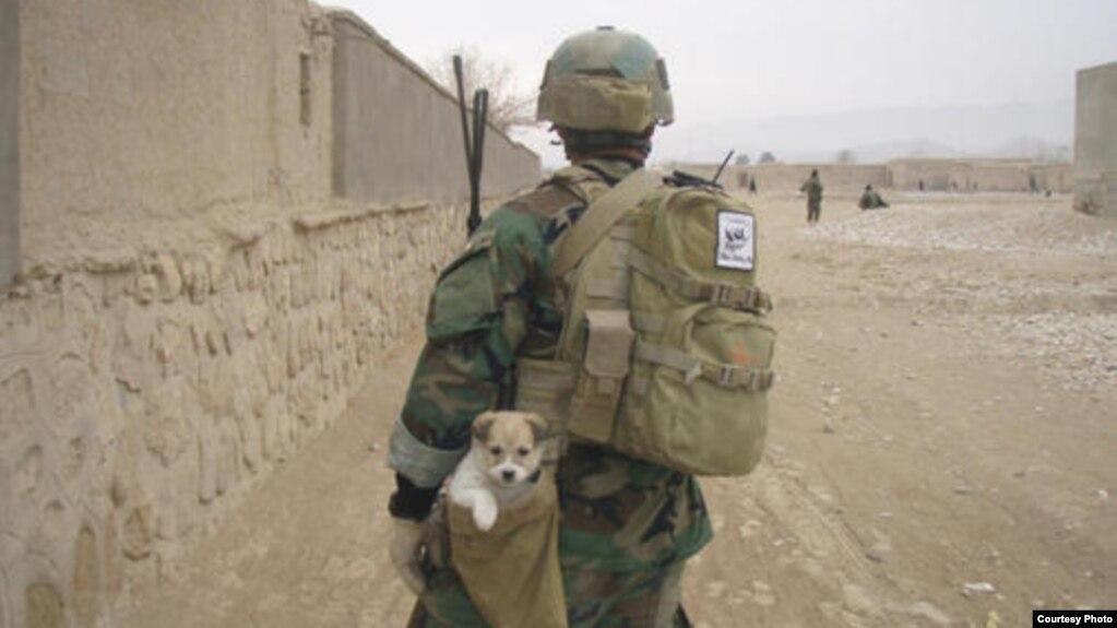 Soldier pen pals in afghanistan