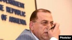 Министр градостроительства Армении Самвел Тадевосян