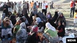 İranda zəlzələ baş verən bölgə