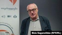 Грузинский аналитик, психолог Рамаз Сакварелидзе