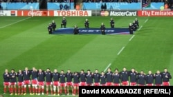La un match de rugby