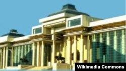 Будівля Великого державного хуралу в Монголії