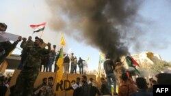 Прихильники Ірану напали на посольство США в столиці Іраку Багдаді 31 грудня