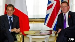 Французский и британский лидеры