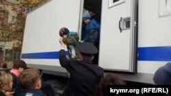 Севастополь, святкування російського дня співробітника МВС Росії