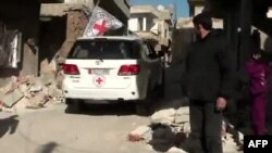 Ilustrim me pamje arkivore nga Siria