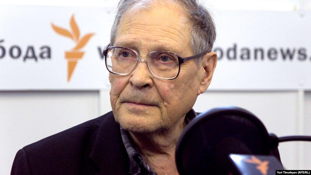Сергей Ковалев в московской студии Радио Свобода 14 ноября 2011 года