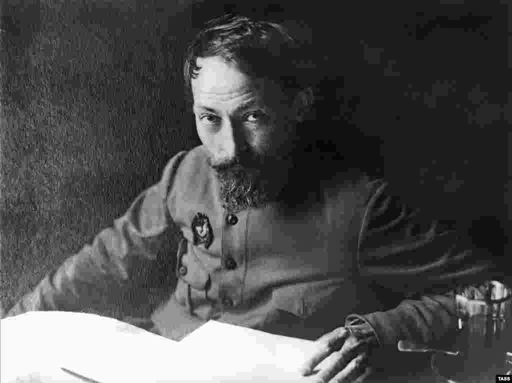 "Feliks Dzerzhinsky, founder of the first Soviet secret police, pictured in 1925 - Lenin's new government on December 20 ordered the creation of the Extraordinary Commission to Combat Counterrevolution and Sabotage (VChK), led by Feliks Dzerzhinsky. Dzerzhinsky said his role was ""the terrorization...and extermination"" of enemies of the revolution. Under his authority, tens of thousands of Russians were summarily executed, including many of the country's elites."