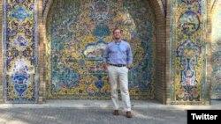 ماتئو ترویتیک شهریور ماه گذشته برای فراگیری زبان فارسی به ایران رفته بود که بازداشت شد.