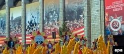 Червоно-жовта стрічка замість «георгіївської» в Киргизстані