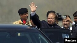 Премьер-министр Пакистана Наваз Шариф. 23 марта 2015 года.