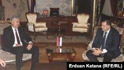 Dragan Čović i Milorad Dodik, Banjaluka, 2. decembar 2014.