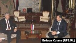Dodik i Čović nedavno su se susreli u Banjoj Luci