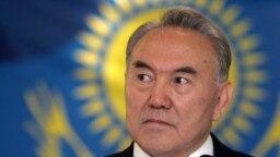 Kazakh President Nursultan Nazarbaev announced his abrupt resignation in a televised address on March 19.