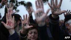 Протестите во Кипар против мерките на владата