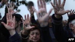 Вчерашните протести во Кипар