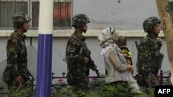 Үрүмчү шаары, 2010-жылдын июль айы.