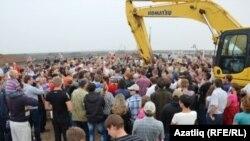 """Протесты против """"Кроношпана"""", Уфа"""