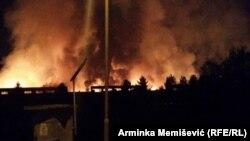 Požar u Krivaji