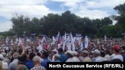 Всероссийский ногайский съезд в Ногайском районе Дагестана, 14 июня 2017 года