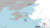 Strâmtoarea Kerci blocată de flota rusă între Marea Azov și Marea Neagră
