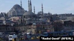 Турция - Вид на Стамбул