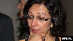 Бавна Даве, Лондон университеті Шығыстану және африкатану мектебінің профессоры. Астана, шілде, 2010 жыл