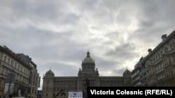 Памятная акция на Вацлавской площади. 16 января 2019 года.