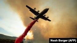 Тушение пожара в Калифорнии. 5 августа 2018 года