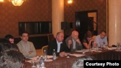 ქართულ და აფხაზურ ახალგაზრდულ ორგანიზაციათა წარმომადგენლების შეხვედრა თბილისში