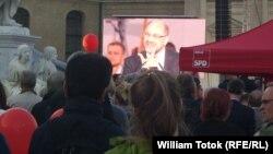 Martin Schulz în septembrie, la Berlin