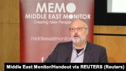 Журналист Джамаль Хашогги.