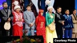 Айтыс ақындары. Астана, 13 желтоқсан 2010 жыл. (Көрнекі сурет)