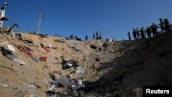 Последствия авианалёта в секторе Газа, 14 ноября 2019 года
