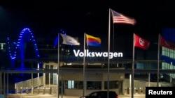 Завод Volkswagen в США. Иллюстративное фото.