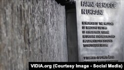 Вашингтон, меморіал жертвам Голодомору