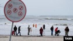 На Балтийском побережье, где собирают янтарь