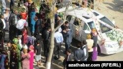 Aşgabat, toý pursaty