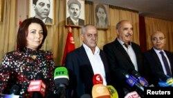 Тунистің Ұлттық диалог төрттігі өкілдері.