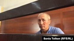 Абловас Жұмаев, ақтаулық белсенді. Ақтау, 31 шілде, 2018 жыл.