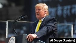 سخنرانی دونالد ترامپ در احمدآباد هند