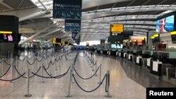 ترمینال پنج فرودگاه هیترو، خالی از مسافر