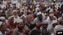 Пакистандык мусулмандар.