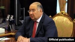 Российский миллионер узбекского происхождения Алишер Усманов.