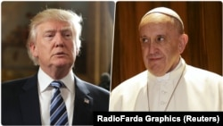 Президент Трамп менен Папа Франциск