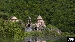 Nagorno-Karbaakh - The medieval Dadivank monastery, May 19, 2015.
