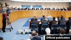 Մարդու իրավունքների եվրոպական դատարանի նիստերի դահլիճը