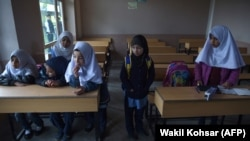 Around 1,000 schools across Afghanistan have been closed due to conflict, according to the country's Education Ministry. (file photo)