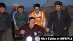 Парень из кыргызской глубинки Нургазы (на квадроцикле), сюжет о котором получил премию Webby Awards в номинации «Лучшее видео».